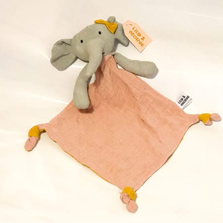 effie the elephant comforter by lily & george