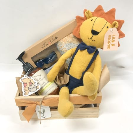 bouncing baby gift pack  - logan the lion