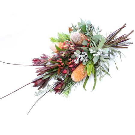 native funeral sheaf for service