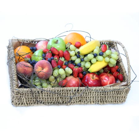 fresh and fabulous fruit basket