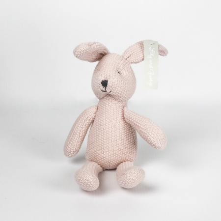 lily and george toy - miss pink rabbit
